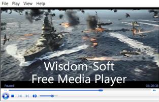 Free Media Player full screenshot